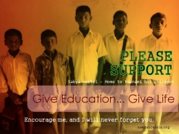 "Please Support ""Friends for Education International"""