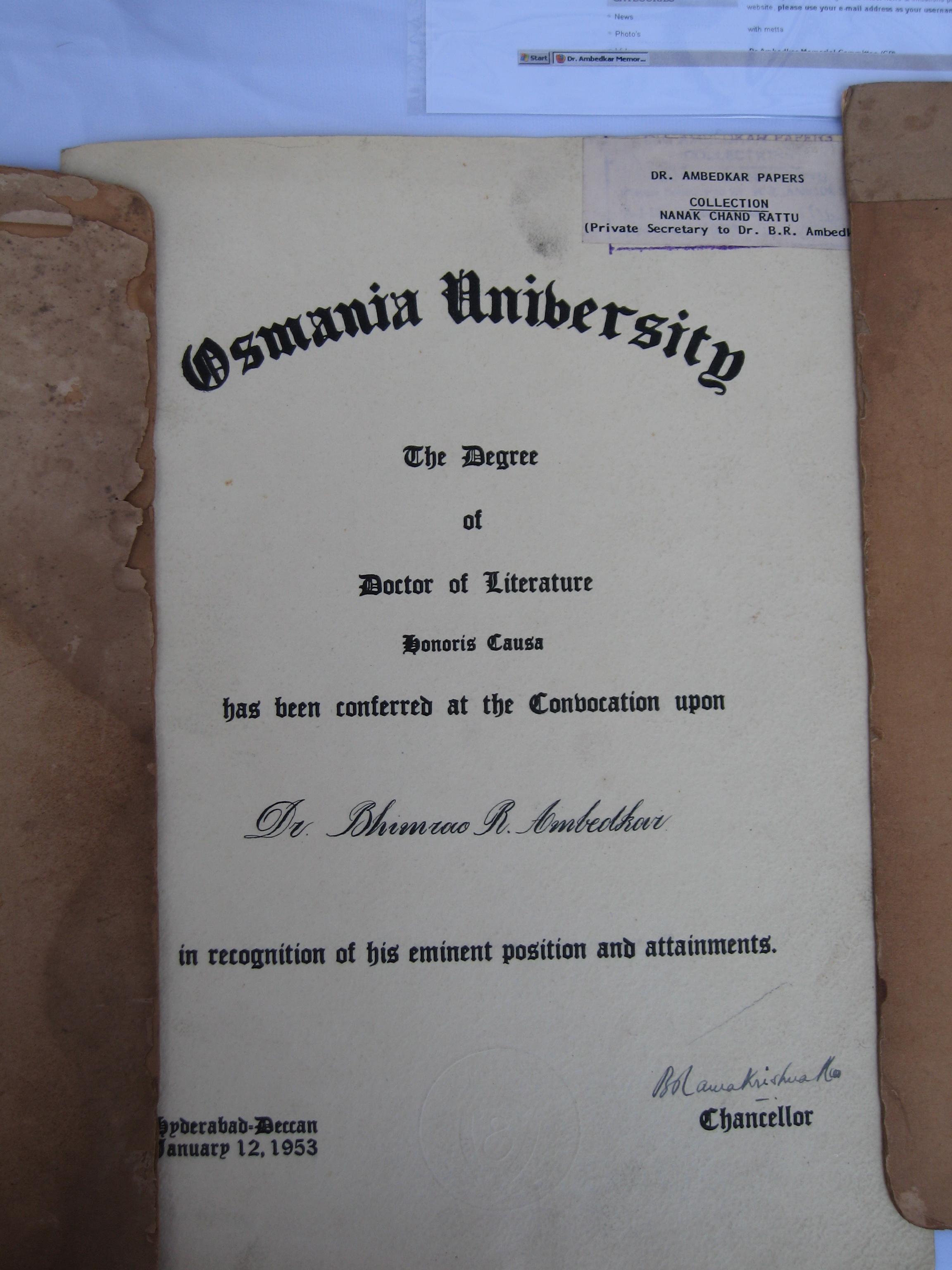 Dr degrees