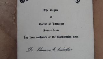 D degree