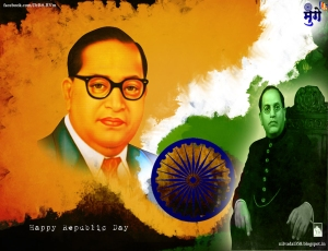republic-day-of-india-br ambedkar wallpaper-freedom fighter-constitution