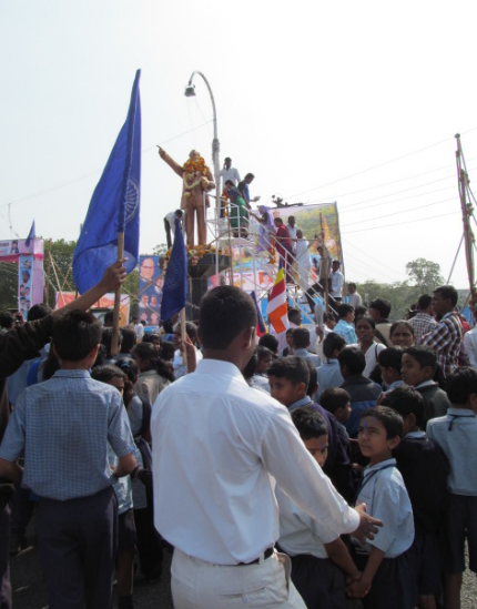 School_children_pay_rich_tribute_to_Dr_B_R_Ambedkar_on_Namvistar_Din