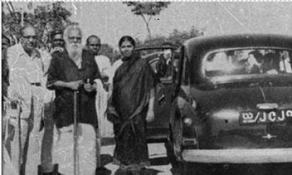 Periyar with Dr. Ambedkar