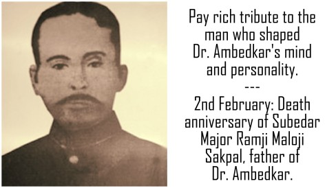 Father of Dr. Ambedkar