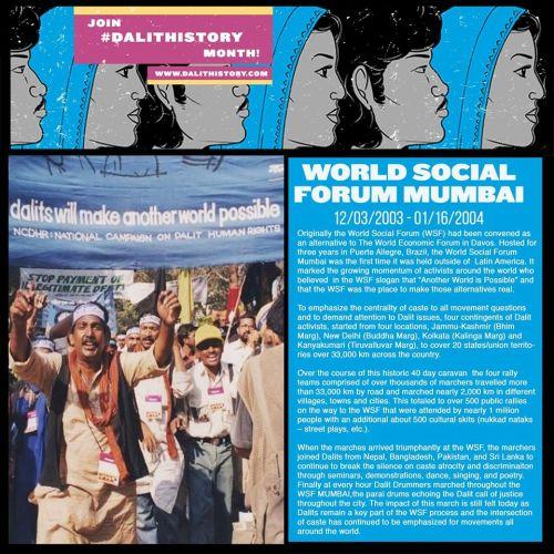 World Social Fourm of Mumbai