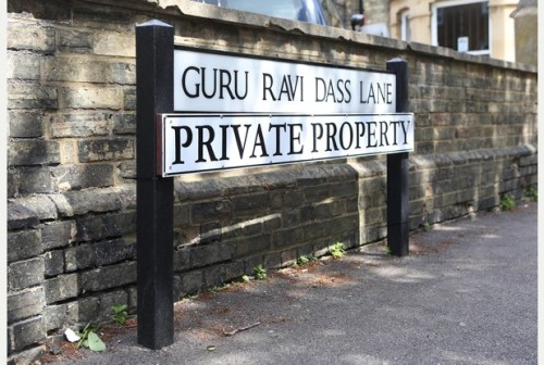 Guru Ravi Dass Lane, Bedford, UK
