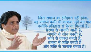 15th January in Dalit History - B'day of Behan Mayawati