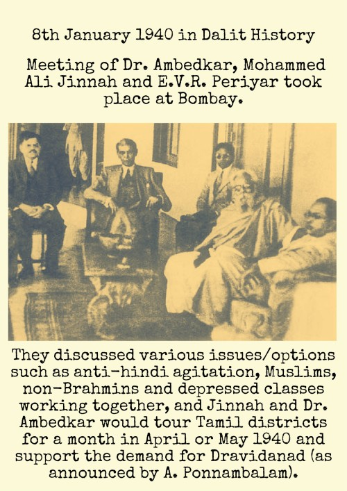 8th January in Dalit History