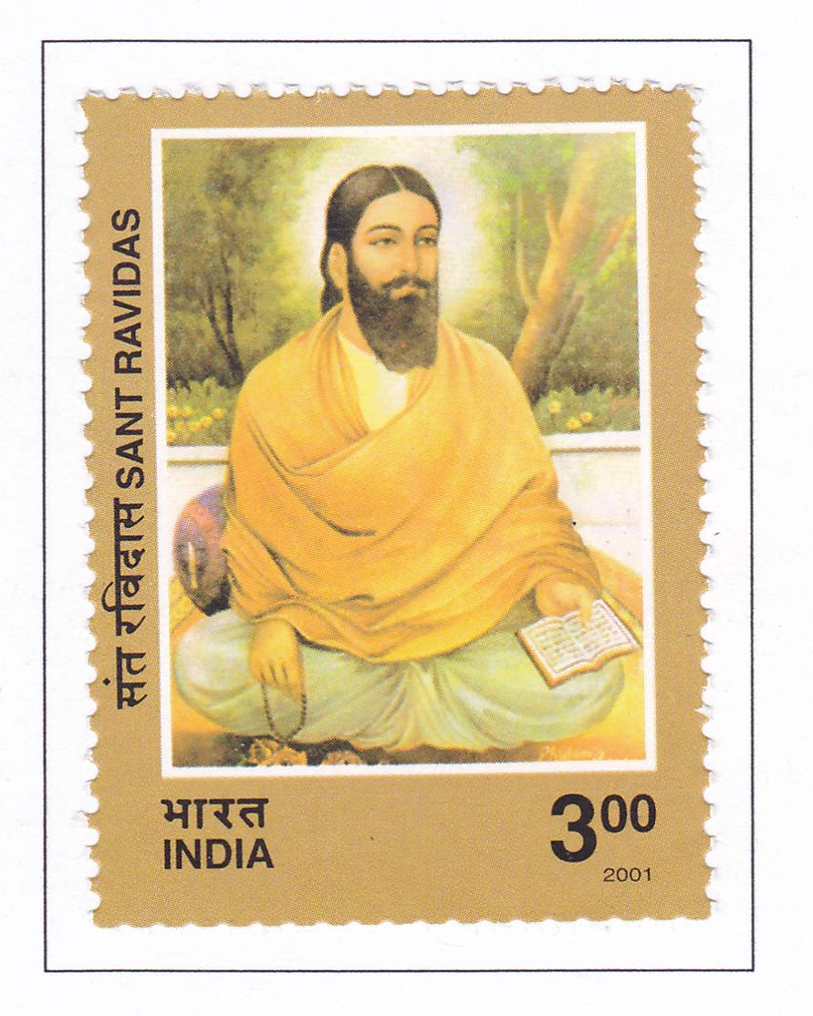 Stamps on Guru Ravidas