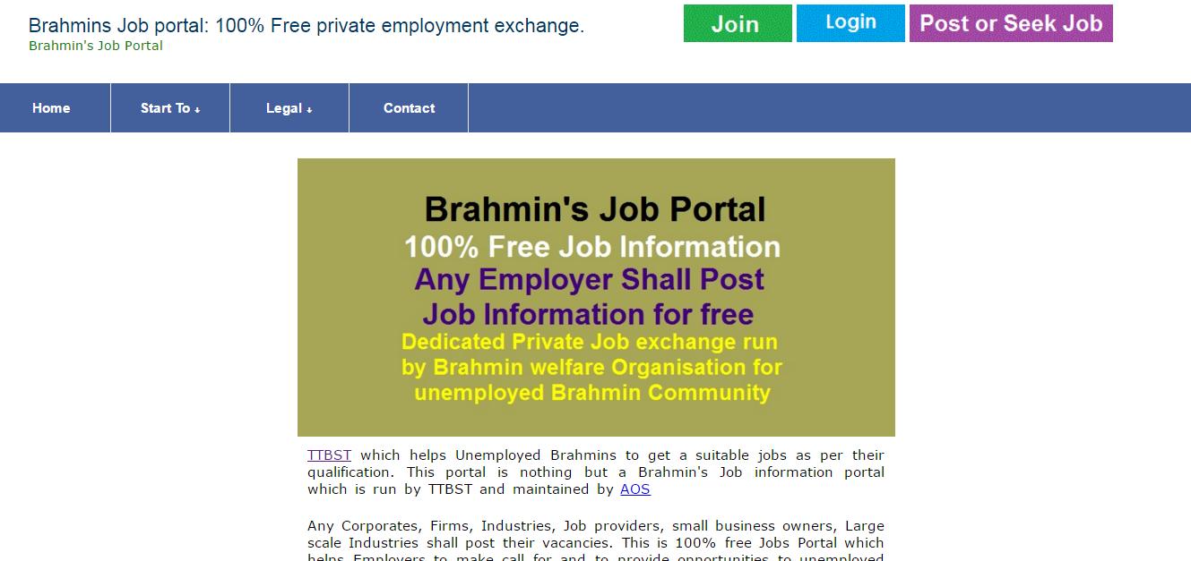 brahmins job portal only for brahmins others need not to apply brahmins job portal only for brahmins others need not to apply dr b r ambedkar s caravan