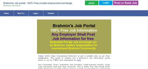Brahmins Job