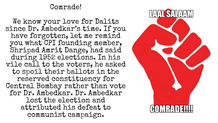 Communists and Dr. Ambedkar
