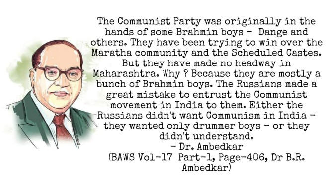 Dr. Ambedkar on Communist Party