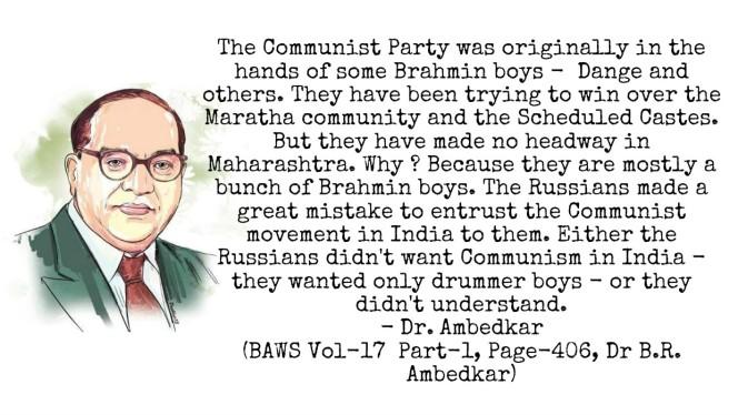 Dr. Ambedkar on Communist Party
