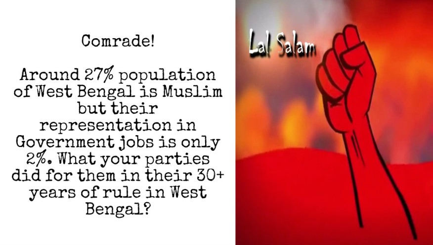 Muslims in West Bengal and Communism