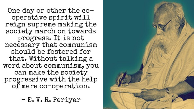 Periyar on Communism and Co-operation