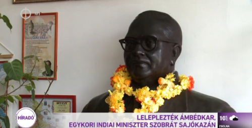 Dr. Ambedkar Statue at Hungary