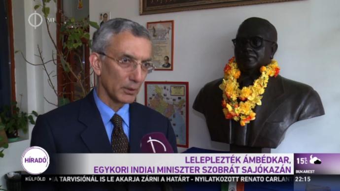 Dr. Ambedkar at Hungary