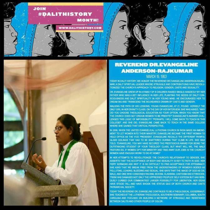 Reverend Dr Evangeline Anderson-Rajkumar