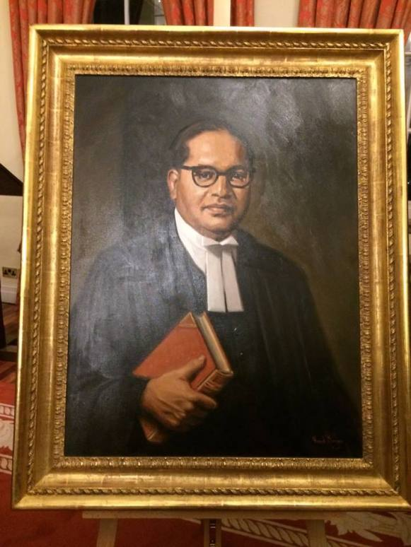 Dr. Ambedkar in London