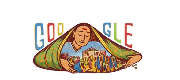 Google Doodle on Savitribai Phule